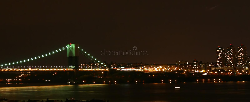 bridge george washington στοκ φωτογραφίες