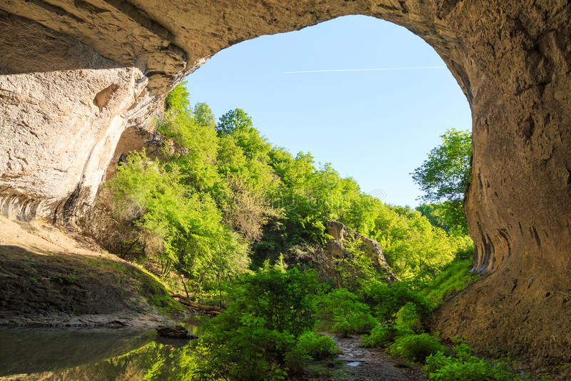 Bridge of God (Boji most), Bulgaria stock photography