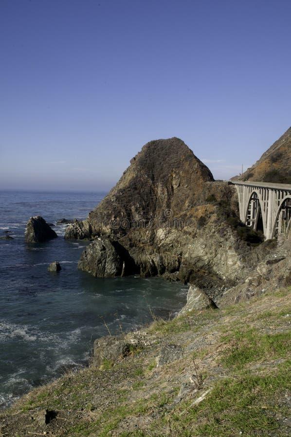 Bridge on Highway 1 stock photography