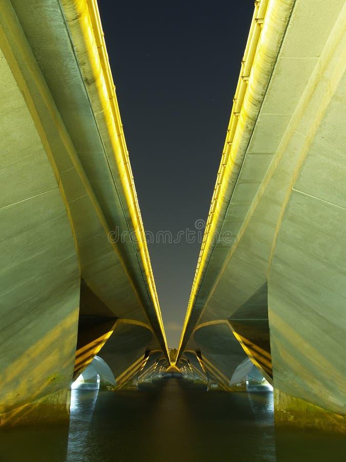 bridge highway under στοκ εικόνες με δικαίωμα ελεύθερης χρήσης