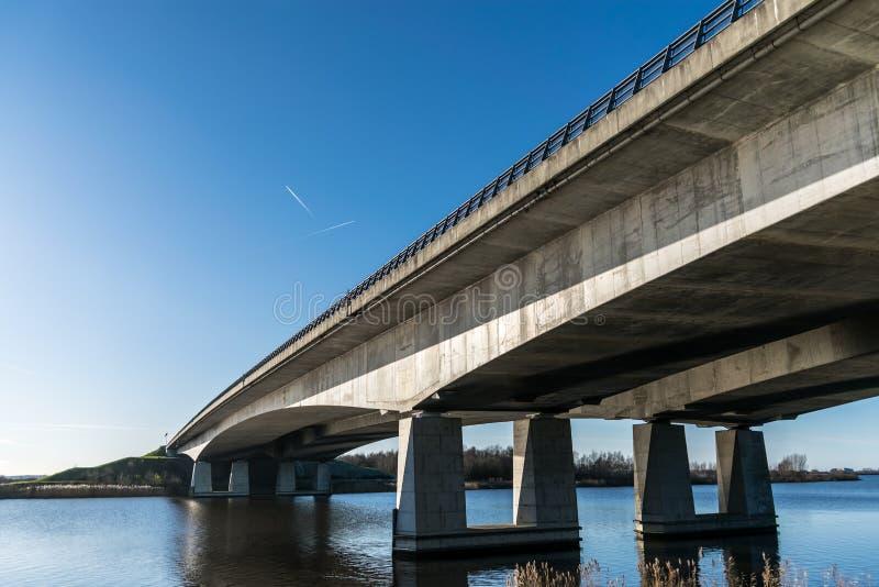 Bridge in Holland stock images