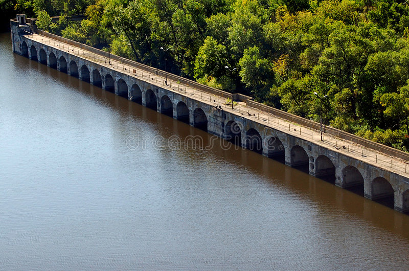 Download Bridge Of Hydroelectric Power Station Stock Image - Image: 3634799