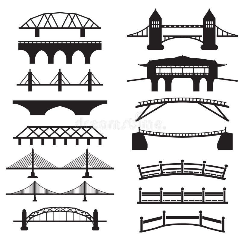 Free Bridge Icons Set Stock Photos - 42418533