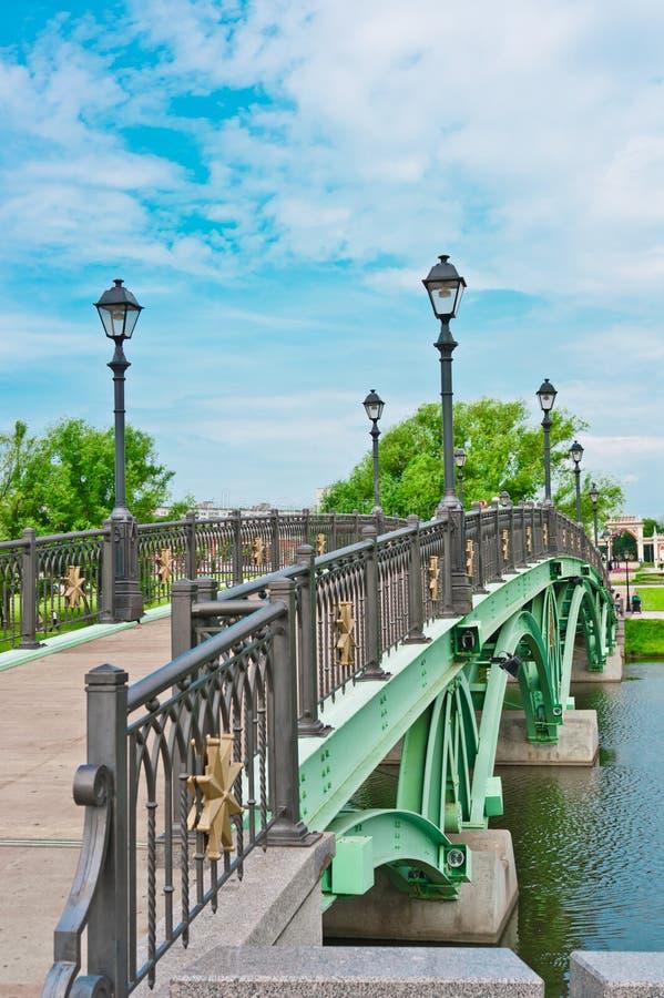 Free Bridge In Tsaritsino Park, Moscow Stock Images - 24556974