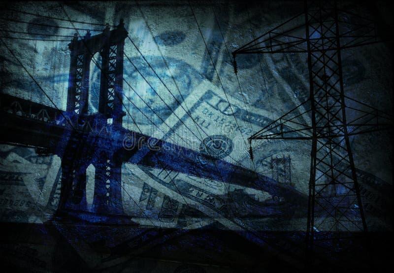 Bridge - Infrastructure stock illustration