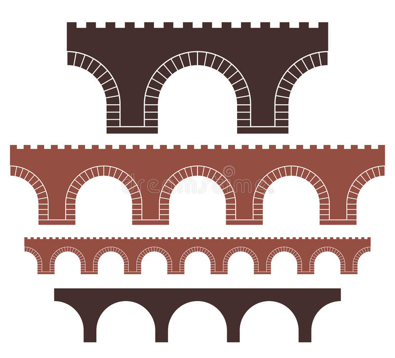 Bridge royalty free illustration