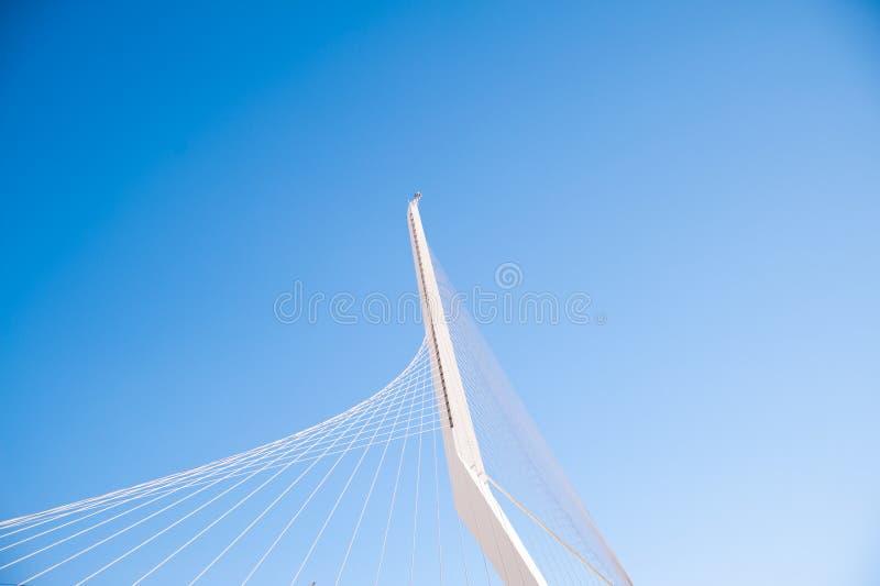 Bridge in Jerusalem stock photo