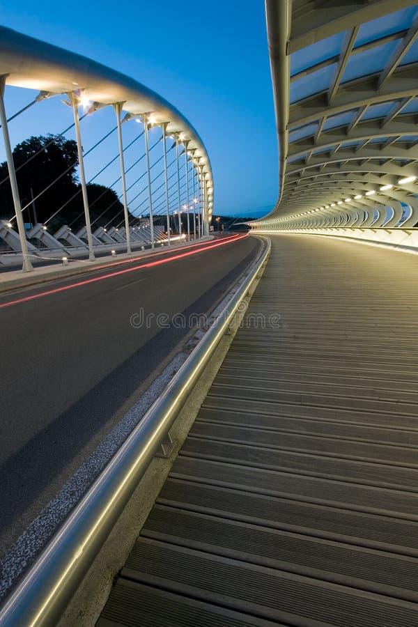 Bridge of the Kaiku, Barakaldo. Bizkaia, Basque Country, Spain royalty free stock photography