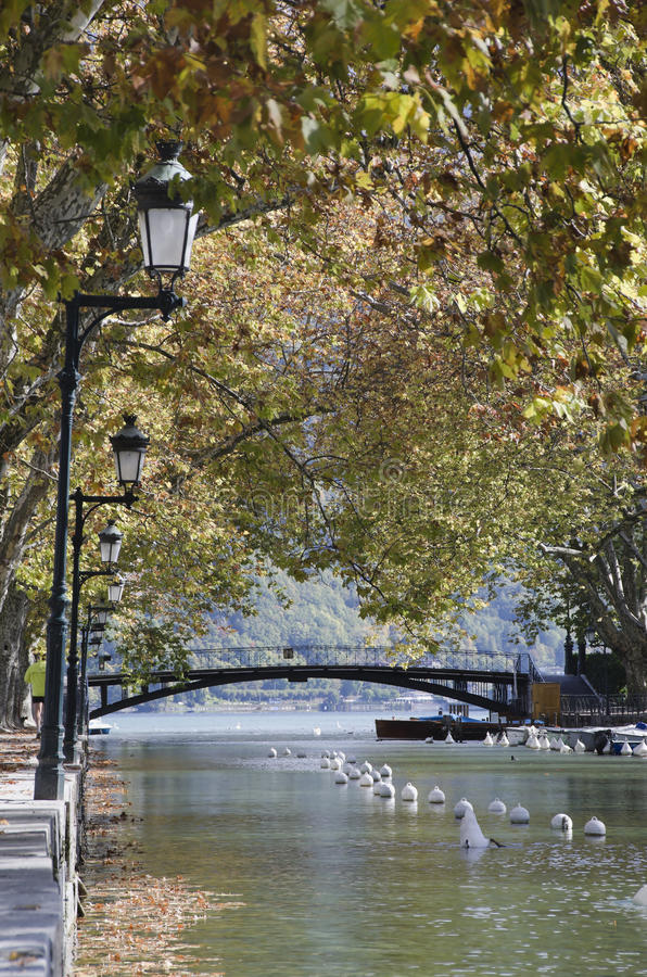 Download Bridge of love stock photo. Image of annecy, colorful - 21892104