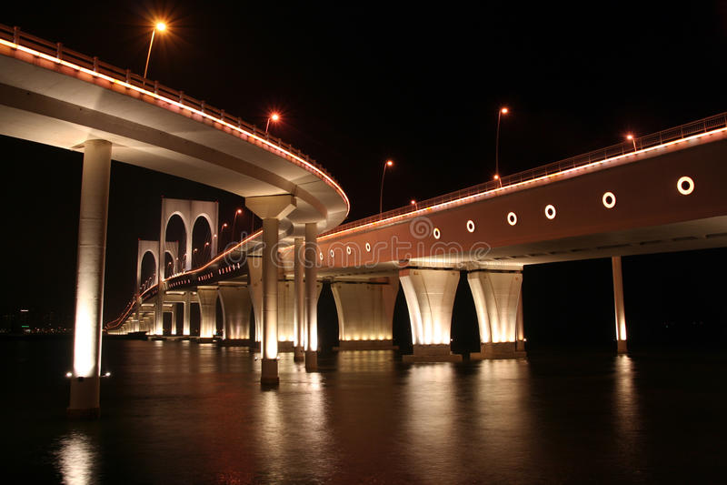 Download Bridge in Macau stock photo. Image of island, china, dawn - 17522006
