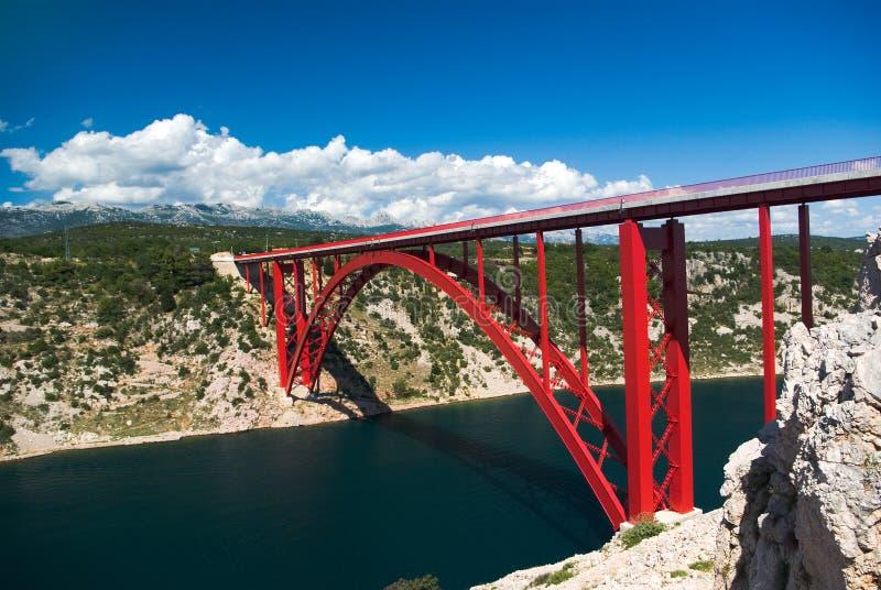Download Bridge in Maslenica stock photo. Image of bridge, south - 2814166
