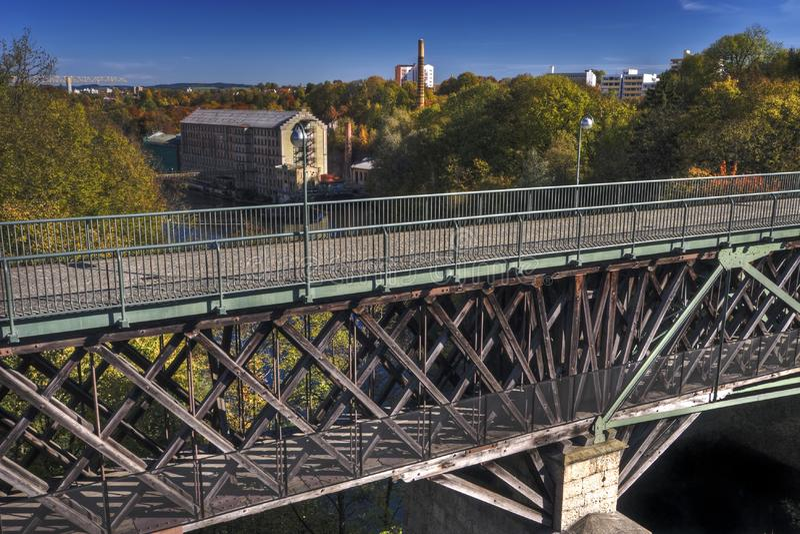 Download Bridge and Mill stock photo. Image of trees, deutschland - 6812024