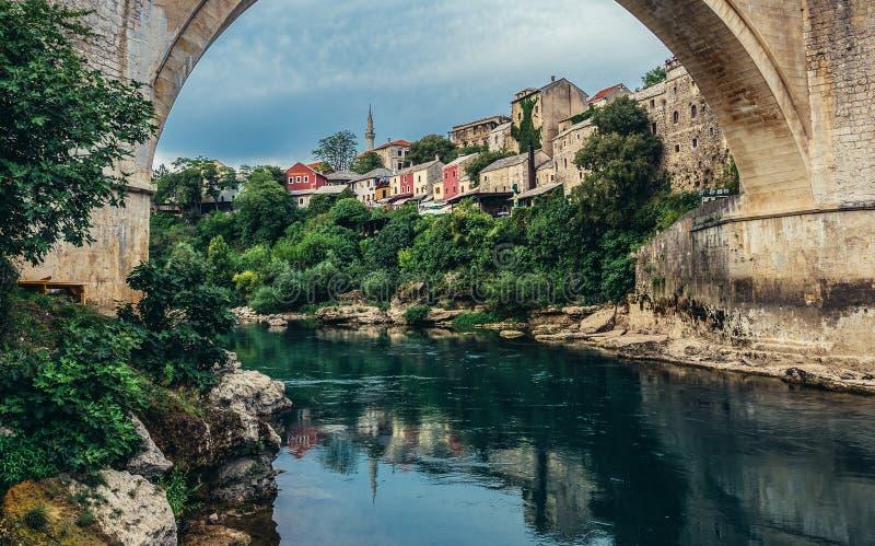Bridge in Mostar royalty free stock image