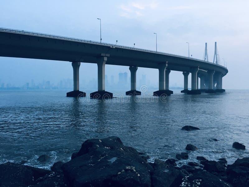 Bridge to the unknown royalty free stock photos