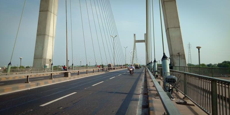 Ne Of The Beautiful Bridge Of Prayagraj royalty free stock images