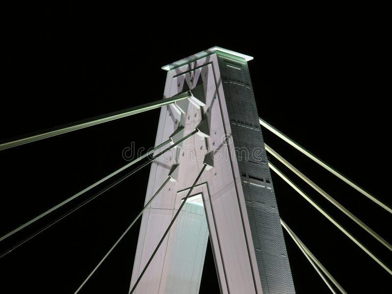Download Bridge at night stock photo. Image of europe, bridge, white - 523980