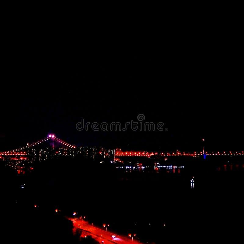 Bridge Night Views royalty free stock images