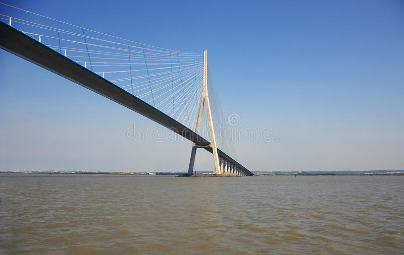 Bridge of Normandy stock images