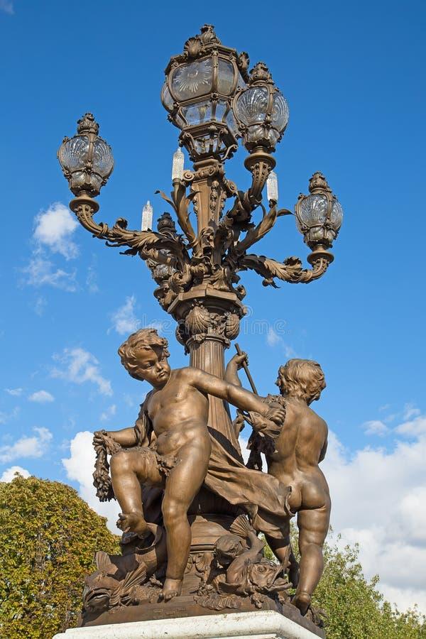 Free Bridge Of Alexandre III In Paris Stock Photo - 60068370