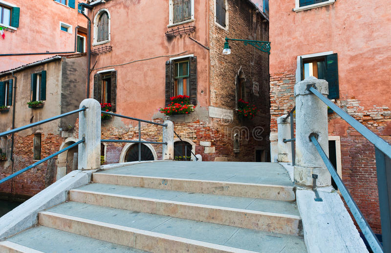 Download Bridge Over Canal In Venice Royalty Free Stock Photography - Image: 25468597