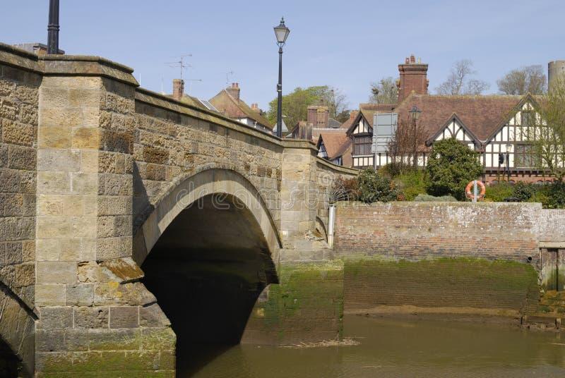 Download Bridge Over River Arun At Arundel. Sussex. England Stock Photo - Image: 19911320