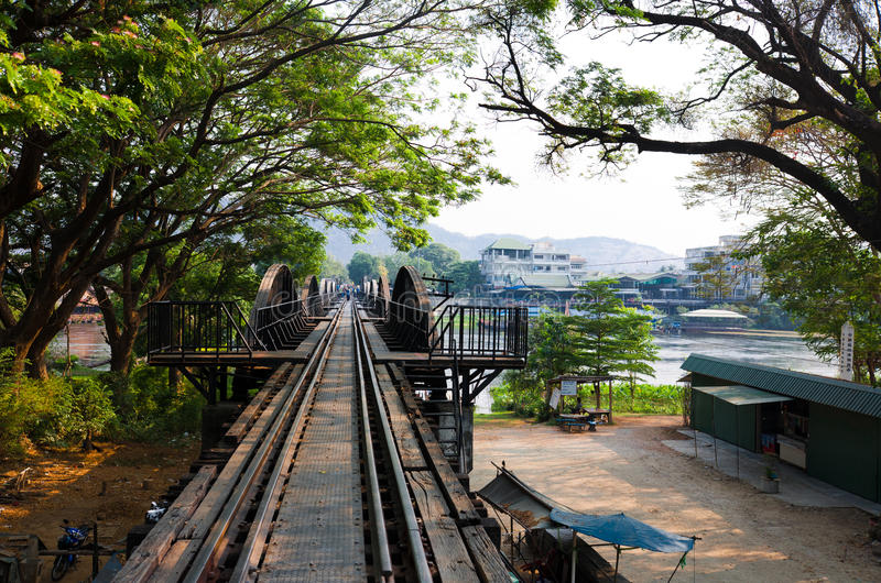 Download Bridge over the river Kwai stock photo. Image of railway - 27635398