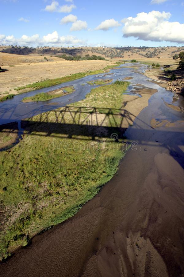 Download Bridge Over River In Middle Of Nowhere Stock Image - Image: 6033813