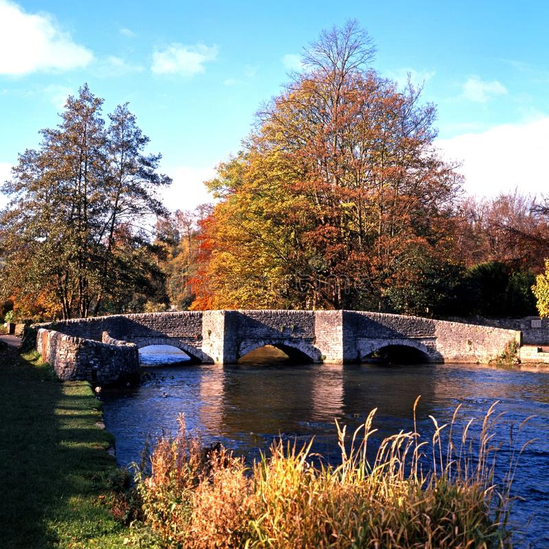 Download 0048Bridge Over River Wye, Derbyshire. Stock Image - Image: 31468361