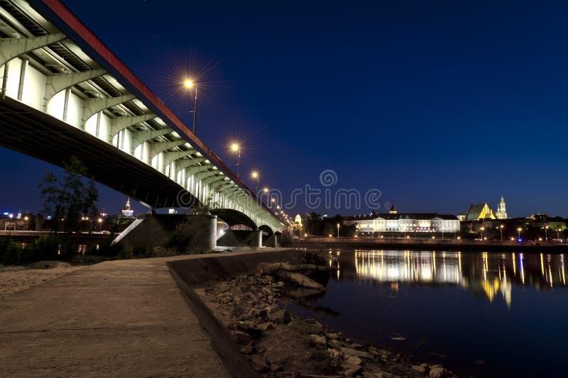 Download Bridge Over The Vistula River Royalty Free Stock Photography - Image: 19998267