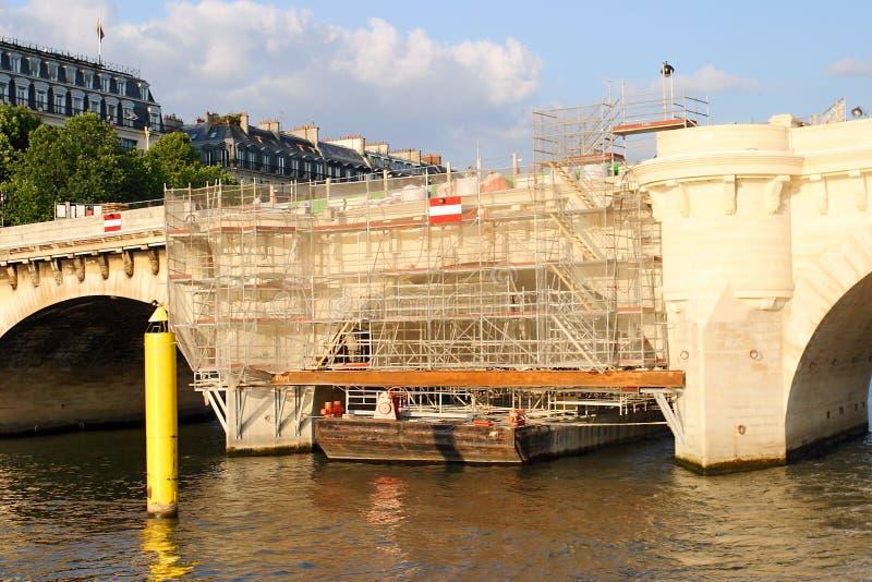 Bridge - Paris - Seine royalty free stock images