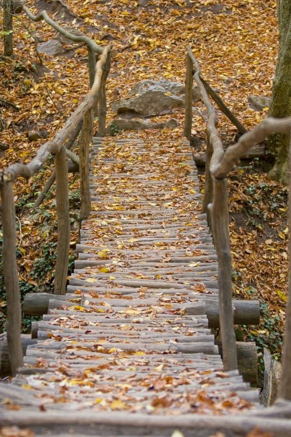 Bridge In A Park Stock Photography