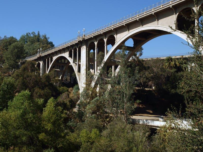 bridge pasadena arkivfoto