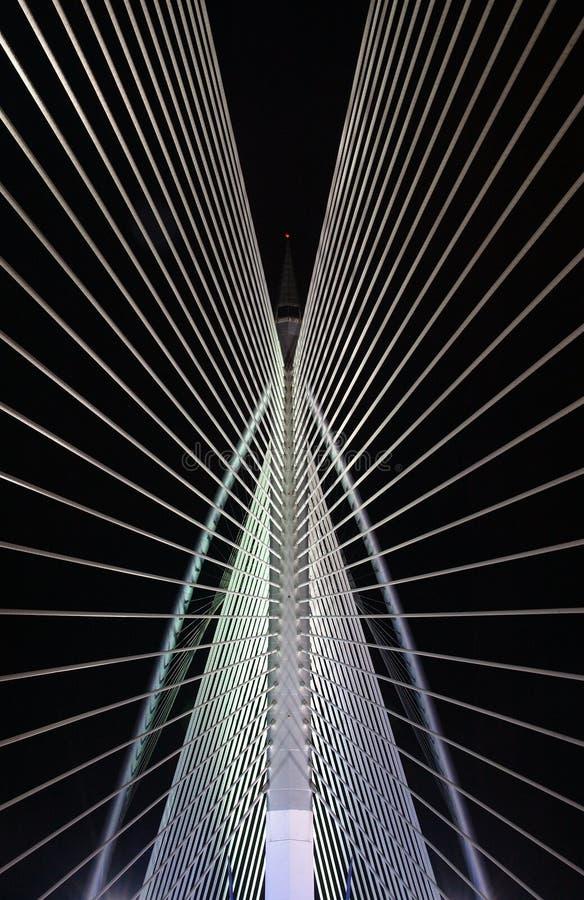 Bridge pattern II. Putrajaya bridge pattern stock image