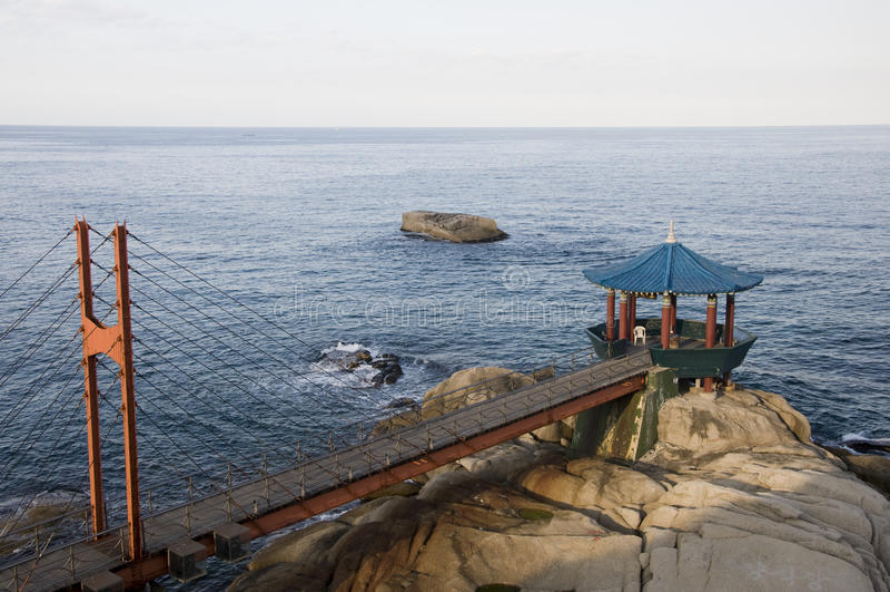 Bridge and Pavilion,South Korea