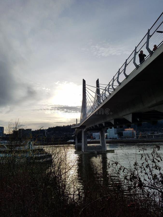 Bridge pdx royalty free stock photo