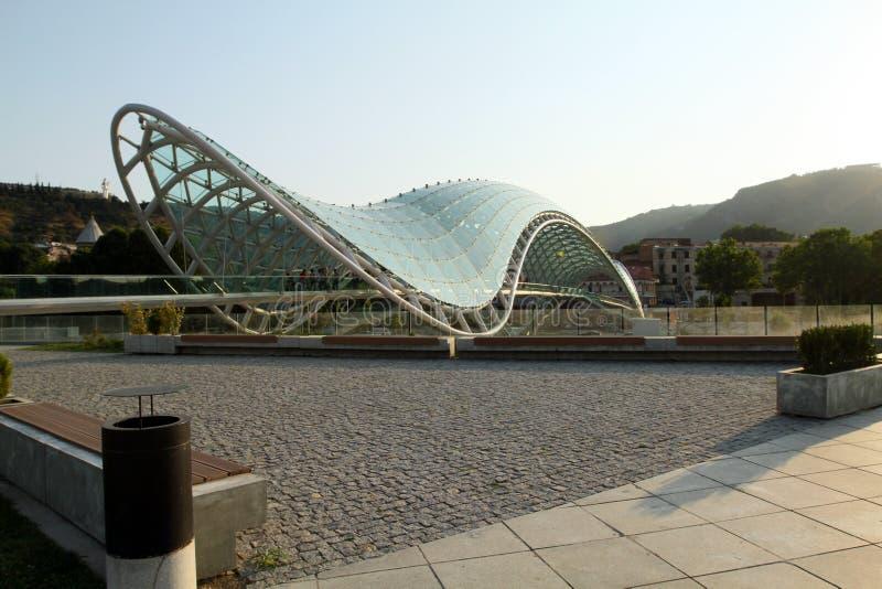 Download Bridge Of Peace In Tbilisi, Georgia Stock Photo - Image: 20850668