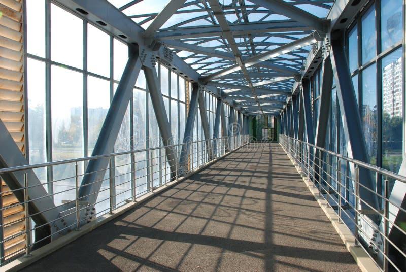 The bridge for pedestrians stock image