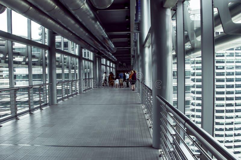 Bridge of Petronas towers