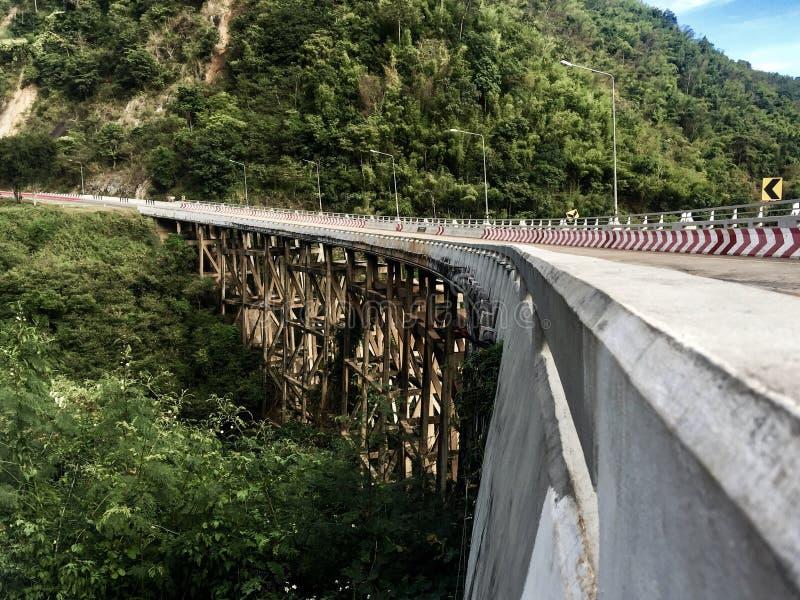 Bridge Mountain royalty free stock photo