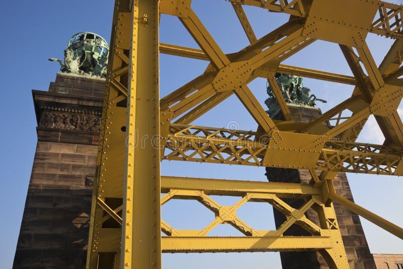 Bridge in Pittsburgh. Pennsylvania. Seen morning time