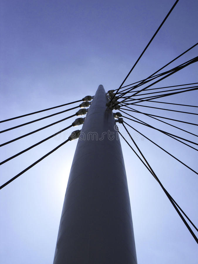 Suspension Bridge stock images