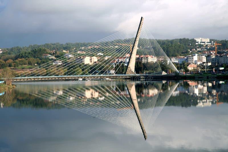 Bridge in Pontevedra. Galicia stock photography