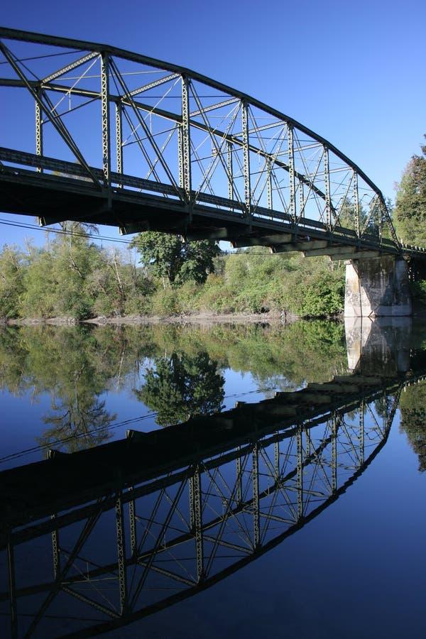 Bridge Reflexion stock photo