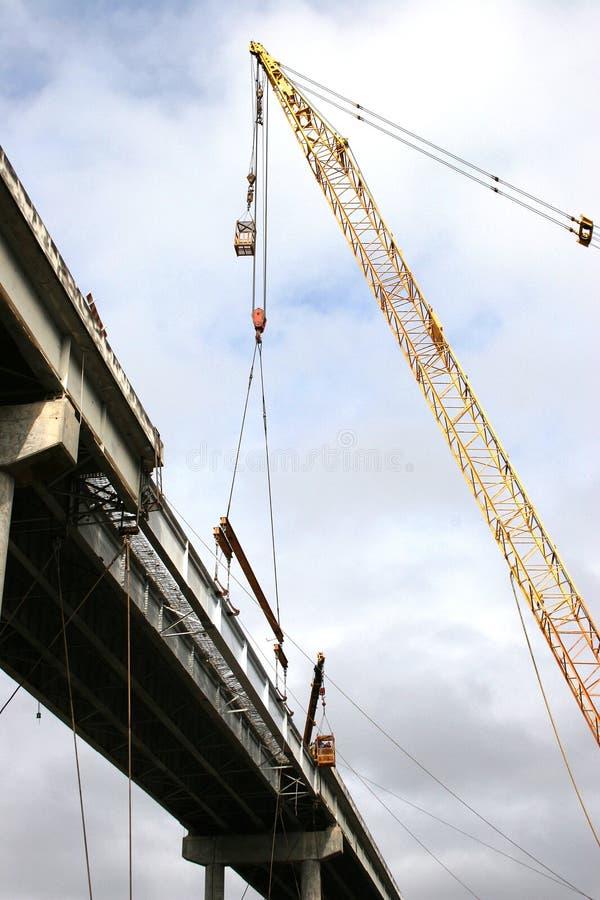 Bridge Repairs2 royalty free stock image