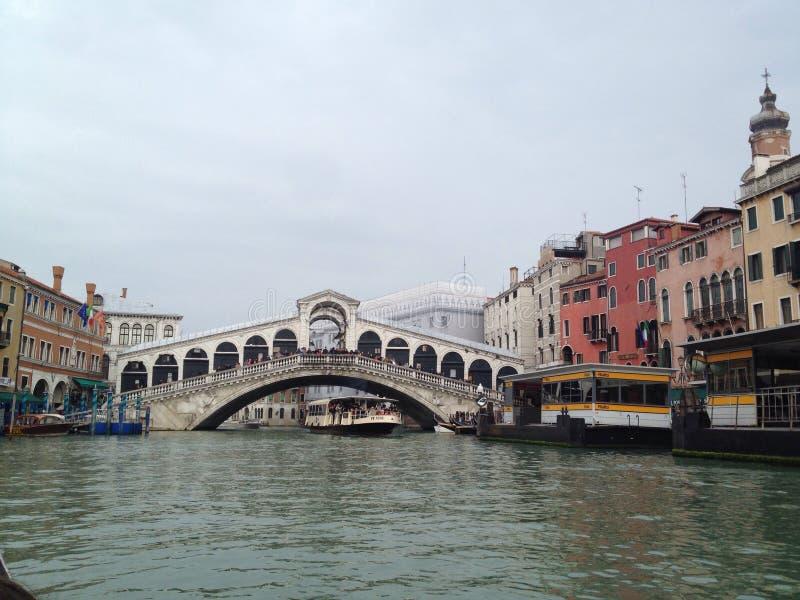 bridge rialtoen arkivbild