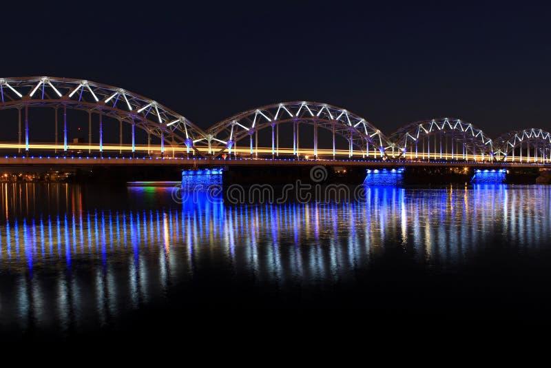Bridge in Riga royalty free stock image