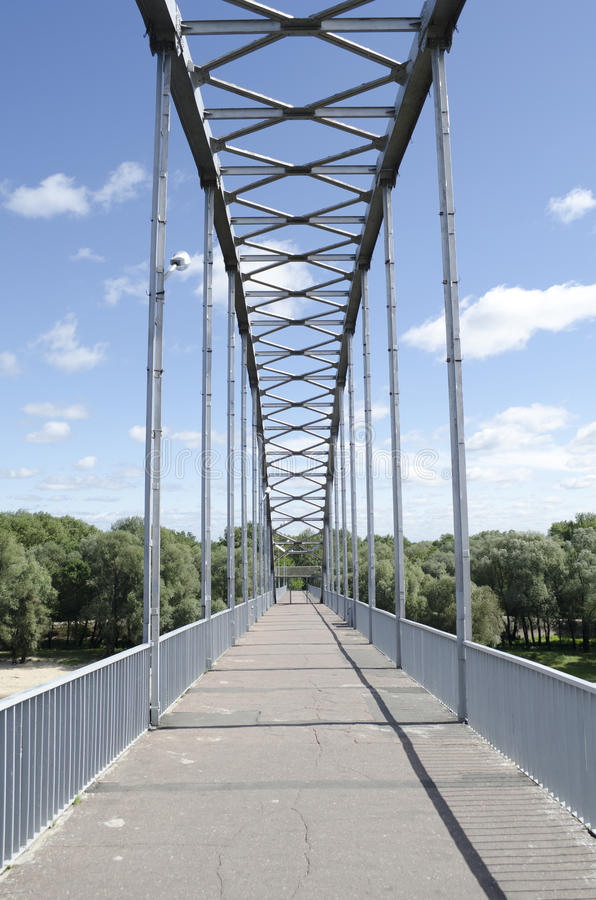 Download Bridge on the River stock photo. Image of travel, steel - 26848640