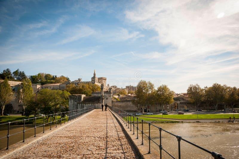 Bridge Saint-Benezet, Avignon, France stock image