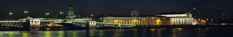 Bridge in Saint Petersburg royalty free stock photography