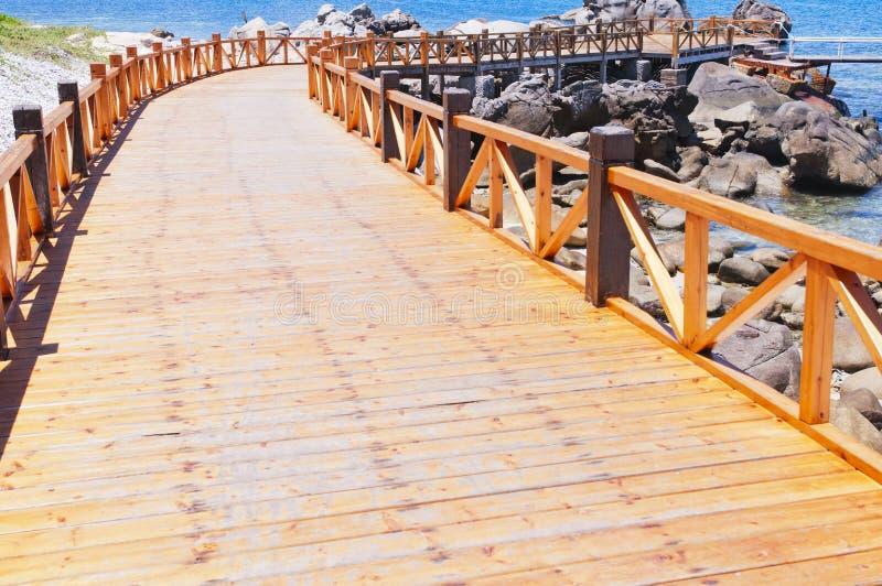 Bridge in the sea